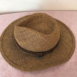 Jordache straw hat. 22 inch inside circumference